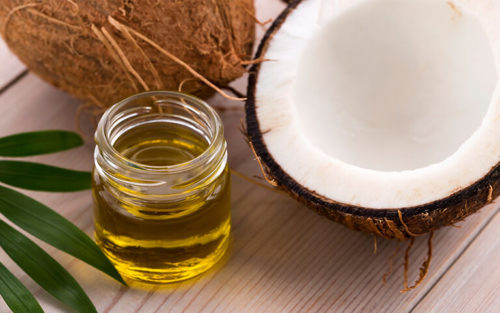 tẩy tế bào chết da mặt bằng dầu dừa