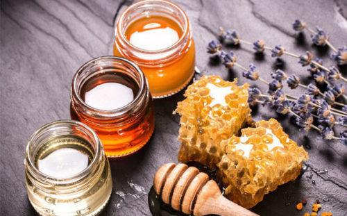 tẩy da chết bằng yến mạch và mật ong