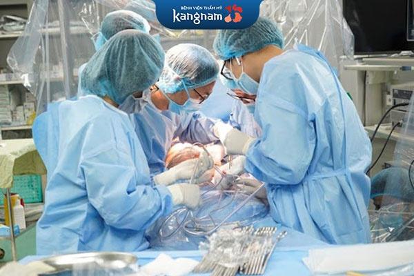 đội ngũ bác sĩ tại kangnam